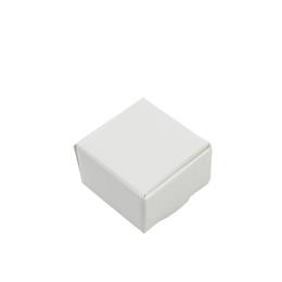 Cookie-boxen online-50 Teile / los 4 * 4 * 2,5 cm Kleine Weiße Kraftpapier Geschenk Verpackung Box für Schmuck DIY Seife Backen Bäckerei Kuchen Cookies Süßigkeiten Aufbewahrungsboxen