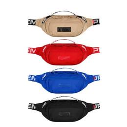 Sup 18SS Waist Bag 44th Unisex Fanny Pack Moda Uomo Canvas Uomo Messenger Bags 17AW Tracolla da borse in pelle giapponese fornitori