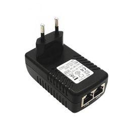 Canada Adaptateur Ethernet UE POE Adaptateur d'alimentation 24V 1A POE Injecteur pour IP Ordinateur Réseau Caméras Routeur Commutateur XXM Offre