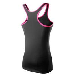 Frauen tanzen yoga kleidung online-Fitness Laufen Tanzen Kleidung Aerobic Gymnastik Sport Frauen Yoga Weste Tank