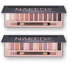 beste concealer dunkle kreise Rabatt Hot Fashion Branded Make-up Wasserdicht 12 Farben Glitter Shimmer Make Up Farben Nude Pigmente Professionelle Lidschatten-Palette