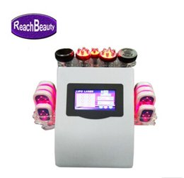 Wholesale Multifunctional Beauty Equipment - 2018 hot sales new product Portable 6 IN 1 Multifunctional beauty equipment 40KHz ultrasonic cavitation slimming