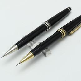 Canada Haute qualité 163 MB stylo Classique MST mécanique Crayon 0.7mm or et argent clip stationnaire fournitures fournitures d'écriture stylos cadeau cheap pencil crayons Offre