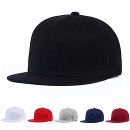 1db13c29b79 VORON Summer Light board Baseball Cap men women Flat brim snapback cap Hip  Hop bboy hat solid DIY unisex adjustable 11colors