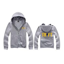 Wholesale Embroidery Velvet Coat - 2018 Factory Outlets Male Hoodie Jackets Printed Hoody Men Camouflage Coat Sport Wear Velvet Zipper Hoodies Men Trukfit Hoodie Free Shipping