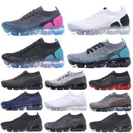 huge discount c46fc 944f2 Best TN Scarpe da corsa Uomo 2019 New Fly V1 V2 Knit Triple Nero Bianco  Designer Shoes Womens Be True Mesh Boots 36-45 calzature a maglia economici