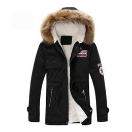 Wholesale Men Fur Thickening Coat - Parka Men Coats Winter Jacket Men Slim Thicken Fur Hooded Outwear Warm Coat Top Brand Clothing Casual Mens Coat Veste Homme Tops
