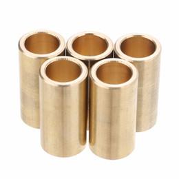Moteur électrique 3d en Ligne-5Pcs / Set Cuivre Roulement Manchon 8mm Roulements Bague Manchon 3D Imprimante Slider Accessoires 8x11x22mm Pour Moteur Électrique