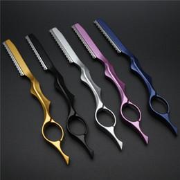 Coltelli professionali online-Coltello da taglio professionale per affilatura rasoio da barba professionale Coltello da taglio manuale per rasoio da barba professionale