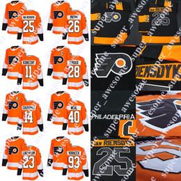 kevin hayes Rabatt Philadelphia Flyers Trikot James van Riemsdyk Claude Giroux Jakub Voracek Sean Couturier Oskar Lindblom Carter Hart Kevin Hayes Cameron York