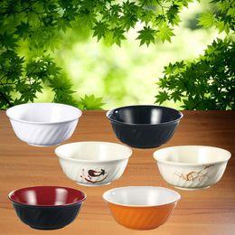 Imitation Porcelain Melamine Dinnerware Twill Bowl Fast Food Restaurant A5 Melamine Bowls Melamine Tableware Rice Bowl & Porcelain Dinnerware Australia   New Featured Porcelain Dinnerware ...