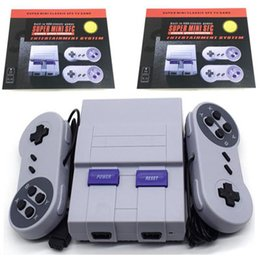 Wholesale Nes Snes - Mini Game Console Video Handheld 400 for SNES and nes games consoles with retail box