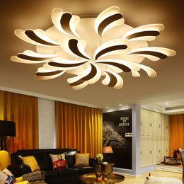 Bedroom Flower Lighting NZ   New Flower LED Ceiling Lights For Bedroom Home  Ceiling Lamp Acrylic
