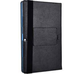 pc compresse chuwi Sconti Flip Book Cover Custodia in pelle PU con supporto per Chuwi Surbook Mini 10,8 pollici Tablet PC (può mettere la tastiera) + Penna stilo