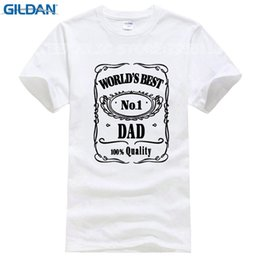 8023ad635d Fathers Day T-Shirt Worlds Best Dad Papa Birthday Gift Daddy Present Pappa Mens  T Shirt Funny Cool Tops Tee Shirts Plus Size
