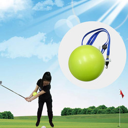Wholesale golf equipment free shipping - Golf Swing Trainer Inflatable smart ball Golf Arm Posture Corrector Equipment for Training Beginners free shipping