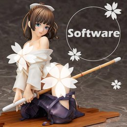 native figures Coupons - Native Kendo girl Sexy Adult figure Saionji nadeshiko hardware software 2 style collection anime model figure Decorate T7367