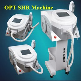 Wholesale Filter Systems - Two system OPT E-Light laser hair removal facial rejuvenation laser multifunction machine have one handle with 5 filters