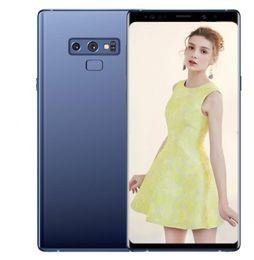 смартфон 4g lte сотовые телефоны Скидка ERQIYU goophone note9 Note 9 Edge 6,4-дюймовые смартфоны Android 9.0 смартфон 3 ГБ оперативной памяти 64 ГБ 2560x1440 показано 4G LTE сотовые телефоны