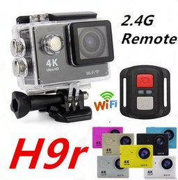 Wholesale Led Use - 4K 25fps Eken H9R Action Camera With Wifi 2.4G Remote 1080p Waterproof Recorder Car Drone Recorder Shockproof Bycycling Sports DV
