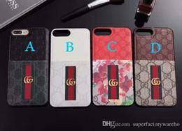 1 PCS Pour iPhone 8 cas de téléphone Cas de téléphone modèle classique pour iphone 6/7 / X Cas de téléphone carte en cuir ? partir de fabricateur