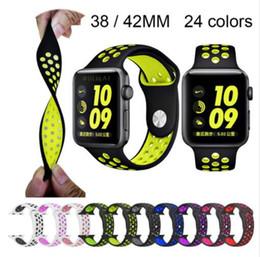 2019 браслеты из силиконовой резины Силиконовый ремешок для apple watch band 42 мм браслет ремешок для apple watch ремешок резиновый iwatch группа 3/2/1 38 мм спорт браслет