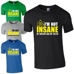Chemises imprimées à manches courtes à col rond, je ne suis pas folle ... Theory Sheldon Unisexe Kids Office Tee ? partir de fabricateur