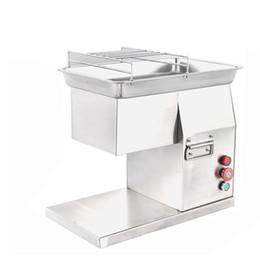 Cortador de carne eléctrico online-Beijamei 400 KG / H de Acero Inoxidable de corte multifuncional máquina de corte de carne máquina comercial de carne en rodajas triturado fabricante