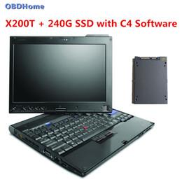 Canada 90% nouvel ordinateur portable X200t pour obd2 connecteur MB STAR C4 logiciel inclus dans 240g SSD outil de diagnostic de voiture prêt à utiliser la livraison gratuite supplier mb star diagnostic software Offre