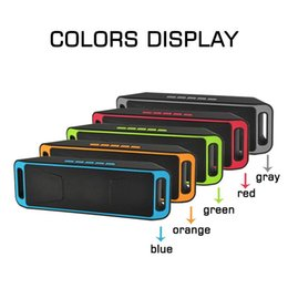 Wholesale Good Seal - SC208 Mini Portable Bluetooth Speakers 2018 Hot Items Good Quality Wireless Music Player Big Sound Subwoofer Support TF USB FM Radio