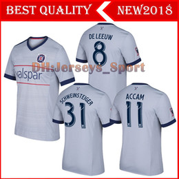 Wholesale Fire Football - CHICAGO 2017 DE LEEUW FIRES CAMISETAS CUSTOMIZED SCHWEINSTEIGER soccer uniform soccer jerseys thai quality thailand quality football shirts