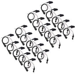 auriculares comtac Rebajas Auriculares PTT MIC de 20 pines con micrófono múltiple para Kenwood TK2140 TK-3180 TK-380 Hot MD