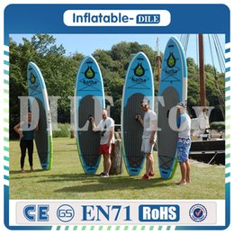 Wholesale Stand Up Paddling - High quality 330*75*15cm inflatable surf board stand up paddle board with pedal control sup board bag leash paddle