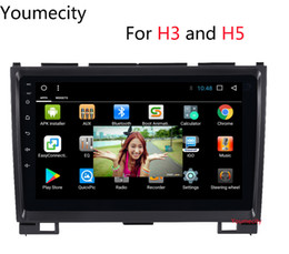 Wholesale Great Wall Hover H5 - Android 7.1 Haval Hover Greatwall Great wall H5 H3 2010 2011 2012 2013 Car dvd gps 4g wifi Capacitive screen radio