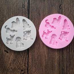 dog silicone cake mould Coupons - Dog Shape Silicone Mold Fondant Mould Cake Decorating Tools Chocolate Gumpaste Molds, Sugarcraft, Kitchen Gadgets