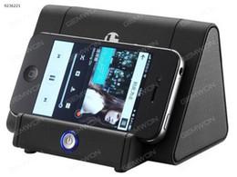 Wholesale Small Speaker Boxes - Wireless Handset Loudspeaker Bracket Small Audio Box mini Auto-sensing Speaker