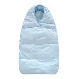 Wholesale Kids Sleeping Bag New - Winter New Sleeping Bag Boy Girl Blanket Embrace Cotton Thick Warm Stroller Bed Wrap Bedding Kids Newborn Hooded Clothing