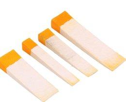 Wholesale Piano Mute - White And Orange Piano Tuning Felt Wedge Mutes Piano Fixing Tool Kit Pack Of 4