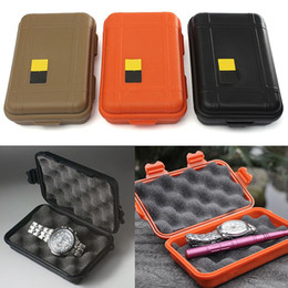 Wholesale camping gear wholesalers - Brand New EDC gear waterproof box kayak Storage outdoor camp fish Trunk Airtight container carry travel seal case bushcraft survive kit