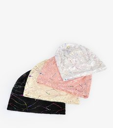 Wholesale Cheap Lace Yarn - 2018 New Style Dome Lace Hat Double Lace Jacquard Women's Hat Light Lace Hat Cheap Good Quality