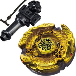 Wholesale metal whips - Best Birthday Gift Sale Hades   Hell Kerbecs Metal Masters 4D Beyblade virgo BB-99 Toys For Launcher led whip brinquedo flashing