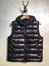 2019 casacos de anorak para homens M315 Francês anorak homens inverno colete gillets UK popular gilets Jacket Corpo Mais Quente Quente Plus Size Homem Para Baixo e parka anorak colete com capuz casacos de anorak para homens barato