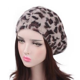 2019 berretto animale Corea moda moda casual animale leopardo modello donne inverno autunno caldo berretto LL180878 sconti berretto animale