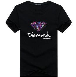 майка бриллиант хип-хоп Скидка 3D Алмаз мужчины с коротким рукавом футболка скейтборд мода Марка одежда хип-хоп camisetas мужские топы уличная футболка homme