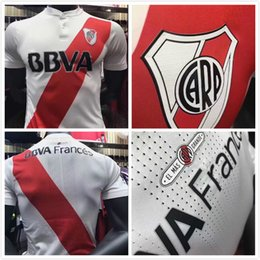 Wholesale Green River - Top quality 2017 2018 river plate CRESPO AIMAR DALESSANDRO ORTEGA CAMISA FUTEBOL soccer jersey thai quality river plate football jerseys