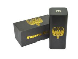 god mod box Sconti Hammer of God V3 Box Mod sigaretta elettronica mod Mod adatta 18650 batteria per Mech atomizzatore Vape Vaporizzatore Kit