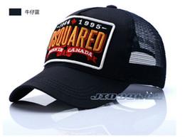 2019 ragazzi crochet cappello da sole Cappelli caldi del ricamo di DS2 Berretti da baseball del cotone puro Protezione di sport di alta qualità Cappello per il sole per il bambino adulto Cappelli regolabili di retro cappelli di Snapback