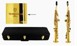 Wholesale Musical Play - Wholesale-New S-992 high quality Soprano Saxophone B flat Musical instruments saxophone playing professionally