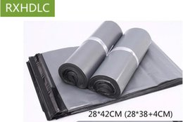 Wholesale Wholesale Postage Bags - Gray grey color Poly Mailer Plastic Shipping Mailing bags Envelopes Poly Pouches Strong Plastic Seal Postage Bags free DHL