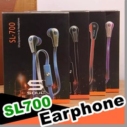 soul ludacris ear headphones UK - Newest Mini Soul SL700 Soul By Ludacris Ear Earphone Headset Headphone For Apple Ipod Iphone Android phone with retail package